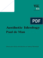 De Man, Paul - Aesthetic Ideology (Minnesota, 1996)