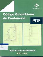Norma 1500 Fontanería