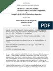 In Re Ralph J. Collins, Debtor. United States of America v. Ralph J. Collins, 26 F.3d 116, 11th Cir. (1994)