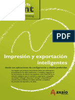 Madetoprint Brochure Spanish