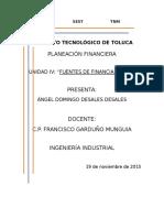 Unidad IV Planeación Financiera