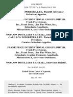 Carillon Importers v. Pesce Int'l, 112 F.3d 1125, 11th Cir. (1997)