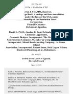 Centrust Savings Bank v. Paul, 121 F.3d 635, 11th Cir. (1997)