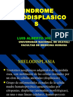 2. SINDROMES MIELODISPLASICOS