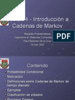 S4 - Cadenas de Markov