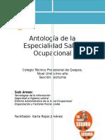 Antología Para Undécimo Toxicologia