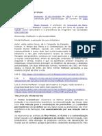 FICHAMENTO - O Tempo Retorna - Formas Elementares Da Pós-modernidade _Michel Maffesoli_Cap Arcaísmo e Tecnologia2012