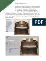 Minshall-Estey Organ Model 1322