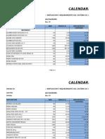 1. Cronograma Adquisicion de Materiales