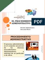 Clase 4 El Procedimiento Administrativo