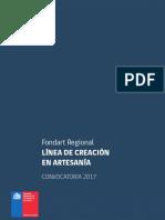 Fondart Regional Creacion Artesania 2017