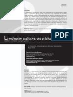 La Evaluación Cualitativa- Una Práctica Compleja. Rubistein Hernández Barbosa Sandra Maritza Moreno Cardozo