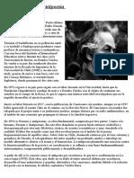 Nicanor Parra y La Antipoesia