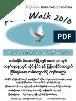 Peace Walk 2010 Burmese 2