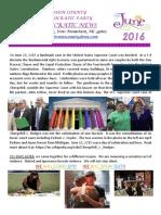 dickinson county newsletter-june 2016