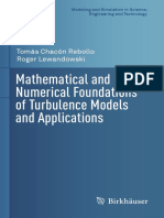 Mathematical and Numerical Foundations of Turbulence Models and Applications