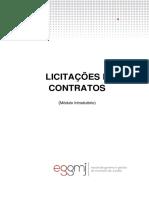 Apostila Licitações e Contratos