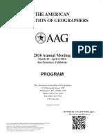 AAG2016 Printed Program Full