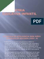 Psicometria Educativa Infantil