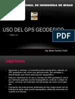 Uso GPS Geodesico