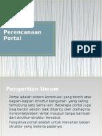 Perencanaan Portal
