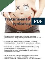 Tratamiento asma  en El Embarazo