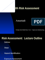 Risk Assessment and Hazard Identification