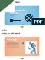 Introducción a La Artrologia