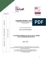 Analisis de La Reforma Politica del D.F. en 2014