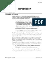 DX01 Intro RSM