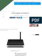 Como Configurar Um Roteador D-Link - TecMundo