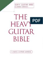 Richard Daniels the Heavy Guitar Bible