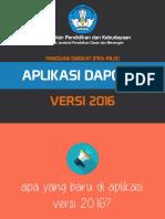 Pengenalan Dapodik v 2016 OK
