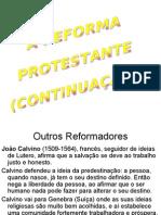 1-A Reforma Protestante continuação