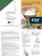 Batata Doce - Chips e Farinha