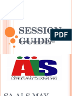 Session Guide Ppt