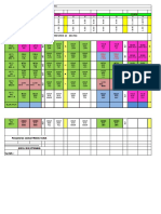 Jadual Waktu PPISMP Dan PISMP Versi2.0 Sem2