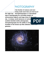 Astrophotography - Guide
