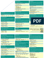 Beginners Python Cheat Sheet Pcc Lists