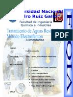 Tratamiento de Aguas Residuales via Electrofenton