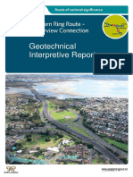 Auckland Geology - Waterview Geotechnical Interpretive-Report