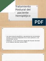 Tratamiento Postural Del Paciente Hemipléjico