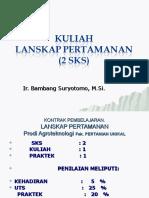 KuliahLandskip Pertamanan-2012