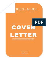 Student Guide eBook Cover Letter