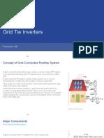 Grid Tie Inverter Market