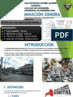 Grupo 6 - Contaminación Sonora