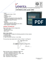 Delta Instruments Regulator PID