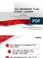 Indonesia Broadband Plan (ITU Jakarta, 090915)