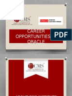 Career Opportunities In Oracle
