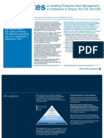 10 Minutes on Building Enterprise Risk Management